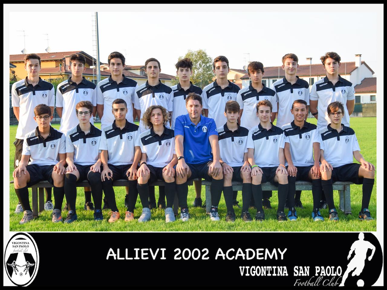 2002 Allievi Academy