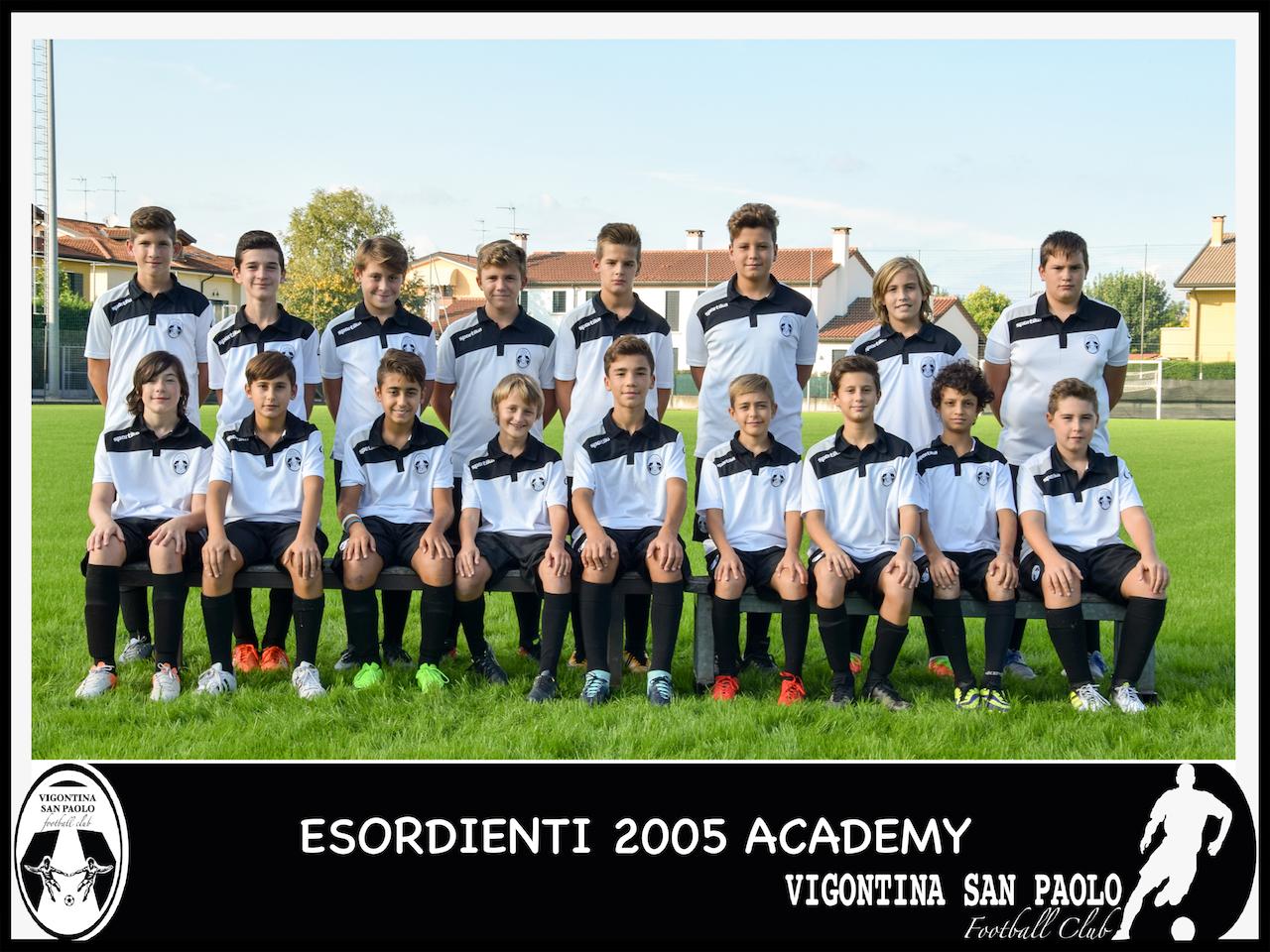2005 Esordienti Academy
