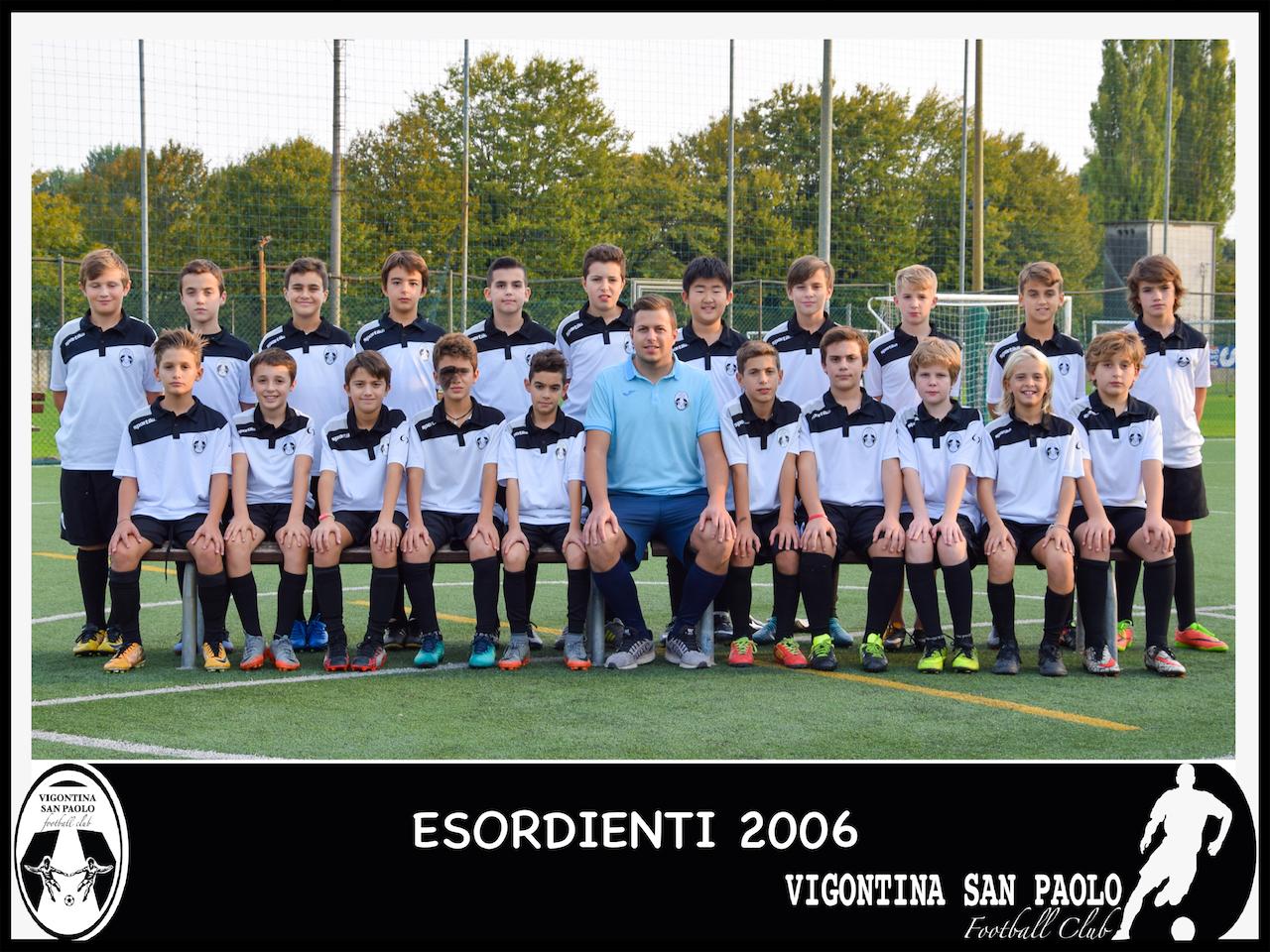 2006 Esordienti Elitè