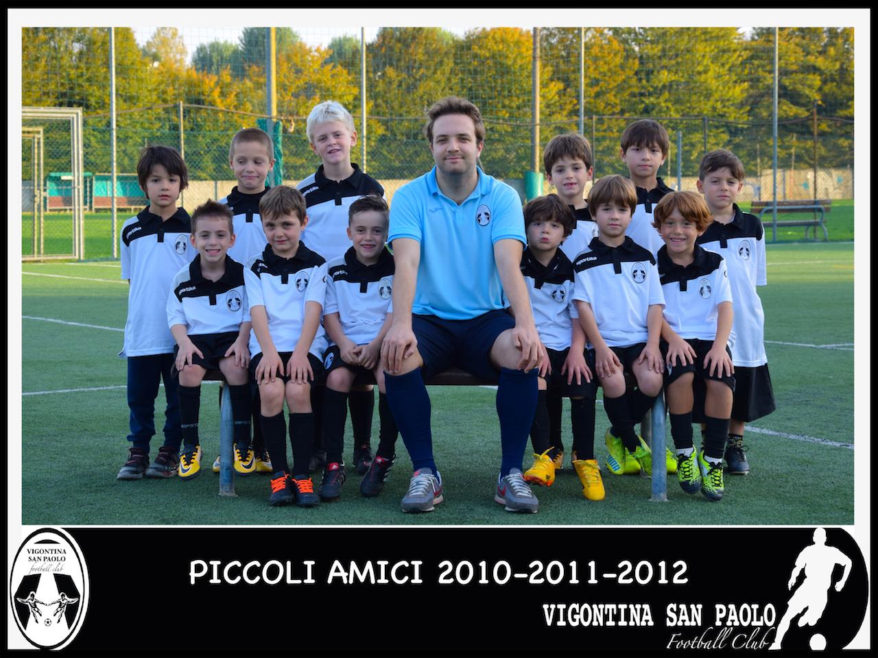 2010:2011:2012 Piccoli Amici