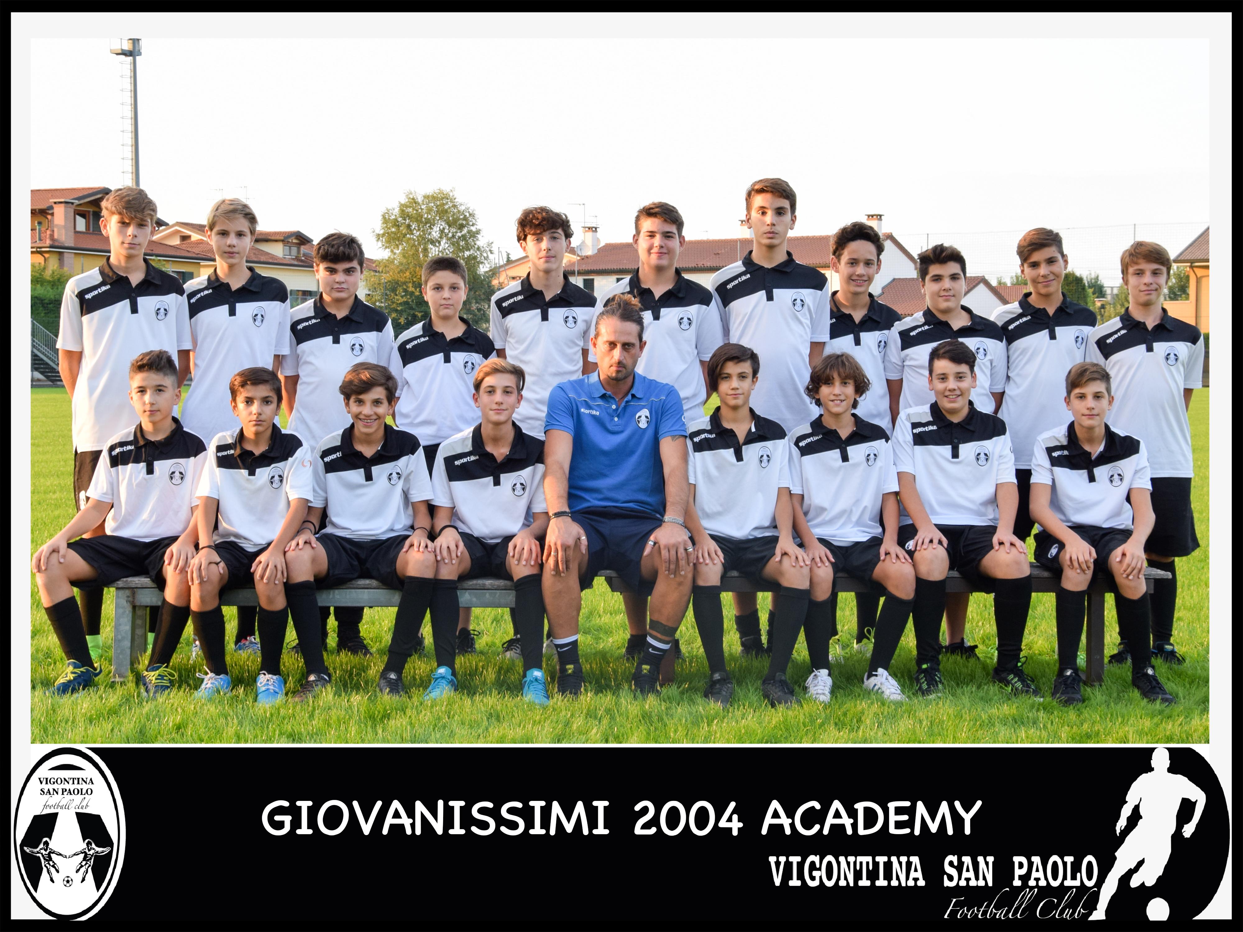 Calendario Giovanissimi Provinciali.Giovanissimi Provinciali Academy 2004 Tombolo Vigontina